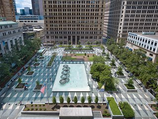 Lauded Midcentury City Square Receives a Much-Needed Revitalization - Photo 1 of 3 -
