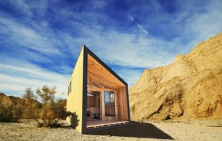 The Wedge is among the new cabin designs that will eventually be integrated into California State Parks.