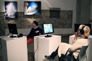 Harry Seidler exhibition at Museum of Estonian Architecture, Tallinn, Estonia. Photo by: Vladimir Belogolovsky
