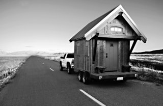 Jay Shafer's Four Lights Tiny House Company sells floor plans for houses that start at 98 square feet. The Gifford is a craftsman-inspired, 112-square-foot structure that can be wheeled from site to site. Shafer has also designed a residential community of micro-dwellings in Sonoma County, California.