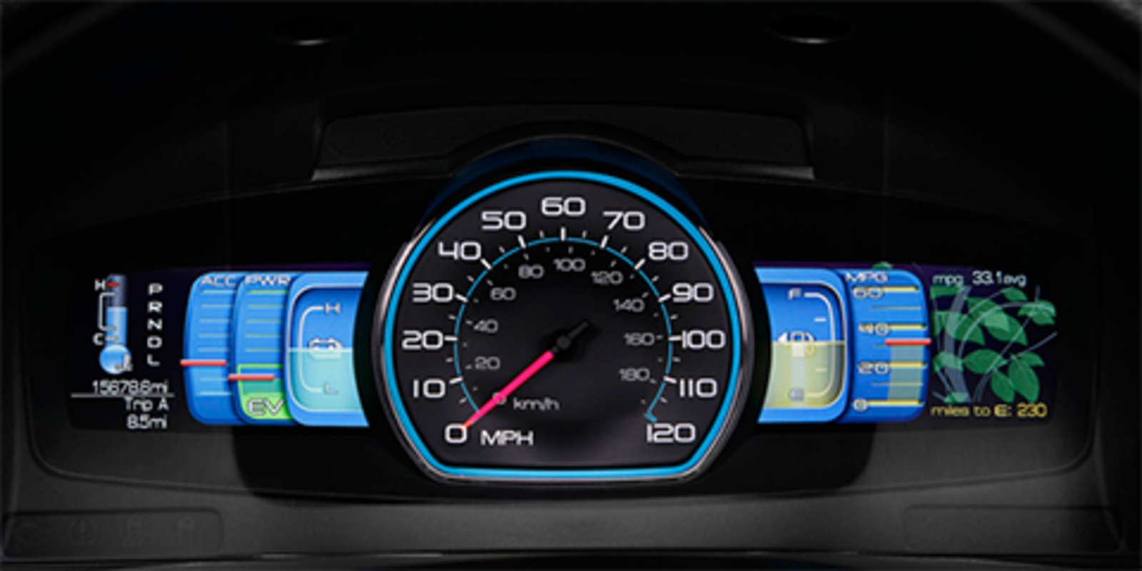Formosa's SmartGauge design for Ford. Photo courtesy of The Ford Motor Company.  Photo 1 of 1 in Dan Formosa of Smart Design