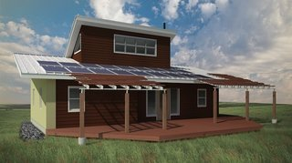 Green Prefab Homes for a Native American Reservation - Photo 1 of 5 -