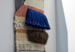 Dwell on Design 2013: Brook&Lyn Woven Textile Art - Photo 1 of 6 -