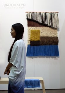 Dwell on Design 2013: Brook&Lyn Woven Textile Art - Photo 3 of 6 -