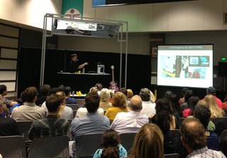Recap: 3D Printing Demo by Cubify - Photo 1 of 3 - Scott Turner, a veteran of the rapid prototyping industry who's been working in the field since the mid-1980s, explains the history of 3D printing and its transition into the consumer marketplace.