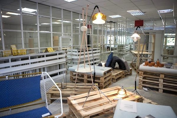 Sparks exhibition curated by Adriana Andreeva Dimitrova. Photo courtesy of Sofia Design Week.
