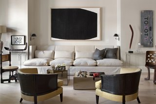 An Interior Designer's Artful and Art-Filled NYC Town House - Photo 2 of 6 -