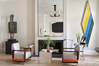 An Interior Designer's Artful and Art-Filled NYC Town House - Photo 4 of 6 -