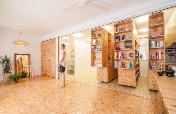 Sliding Shelves Transform This Tiny Home Into Countless Configurations