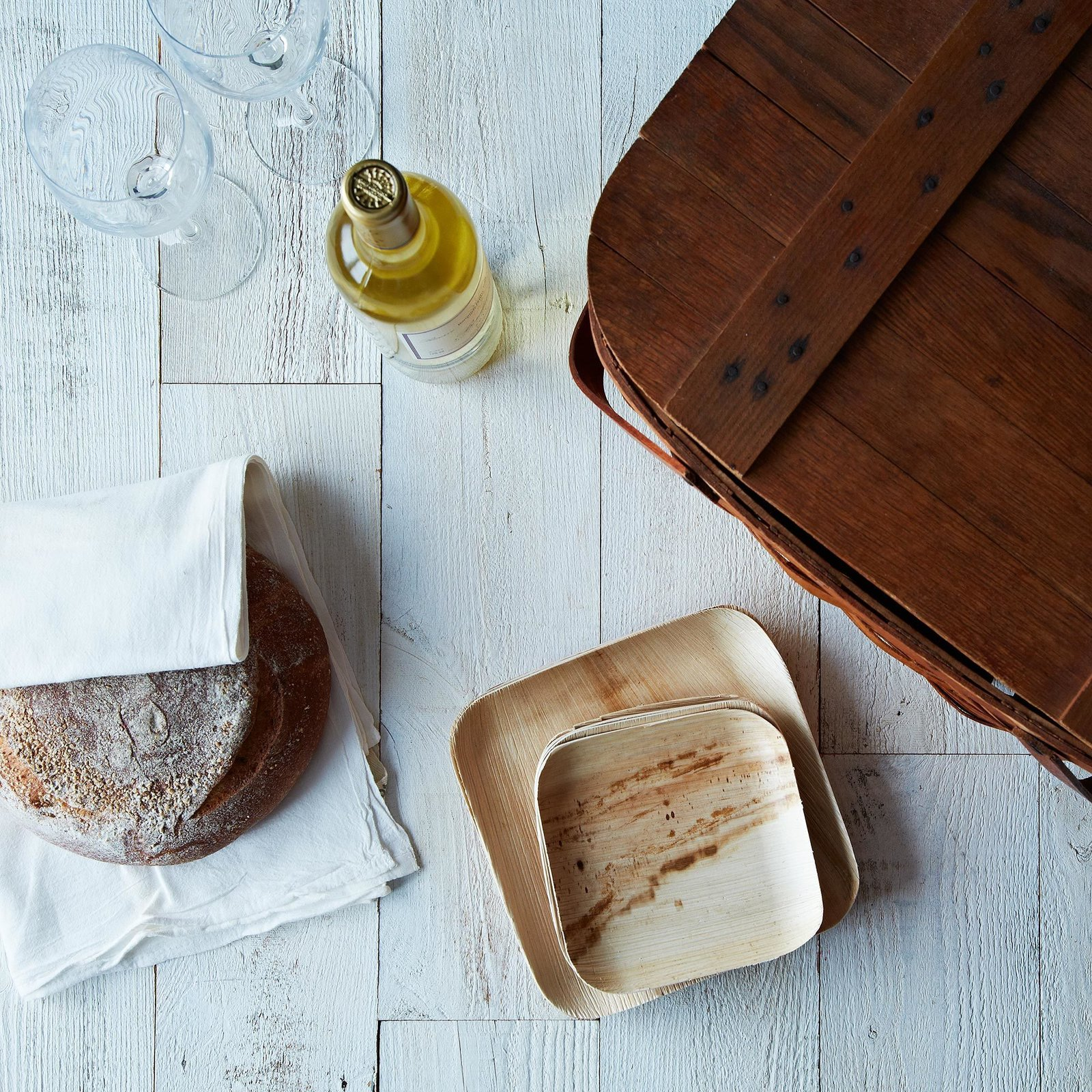 """""""These sturdy plates are made with fallen leaves -- it's difficult to get more sustainable than this."""" Verterra compostible dinnerware at Provisions, $15 for a set of 25  Photo 8 of 10 in Cooking Expert-Approved Kitchenware from Provisions"""