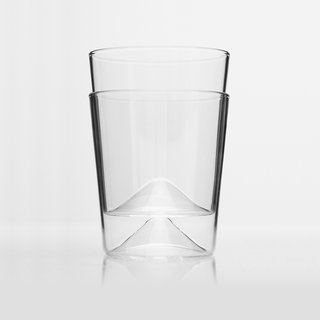 RIEN Drinking Glasses – Set of four, $56<br><br>These drinking glasses can be used for water, cordials, and even wine. The glasses are stackable, and feature a cone-shaped base for a distinctive look.