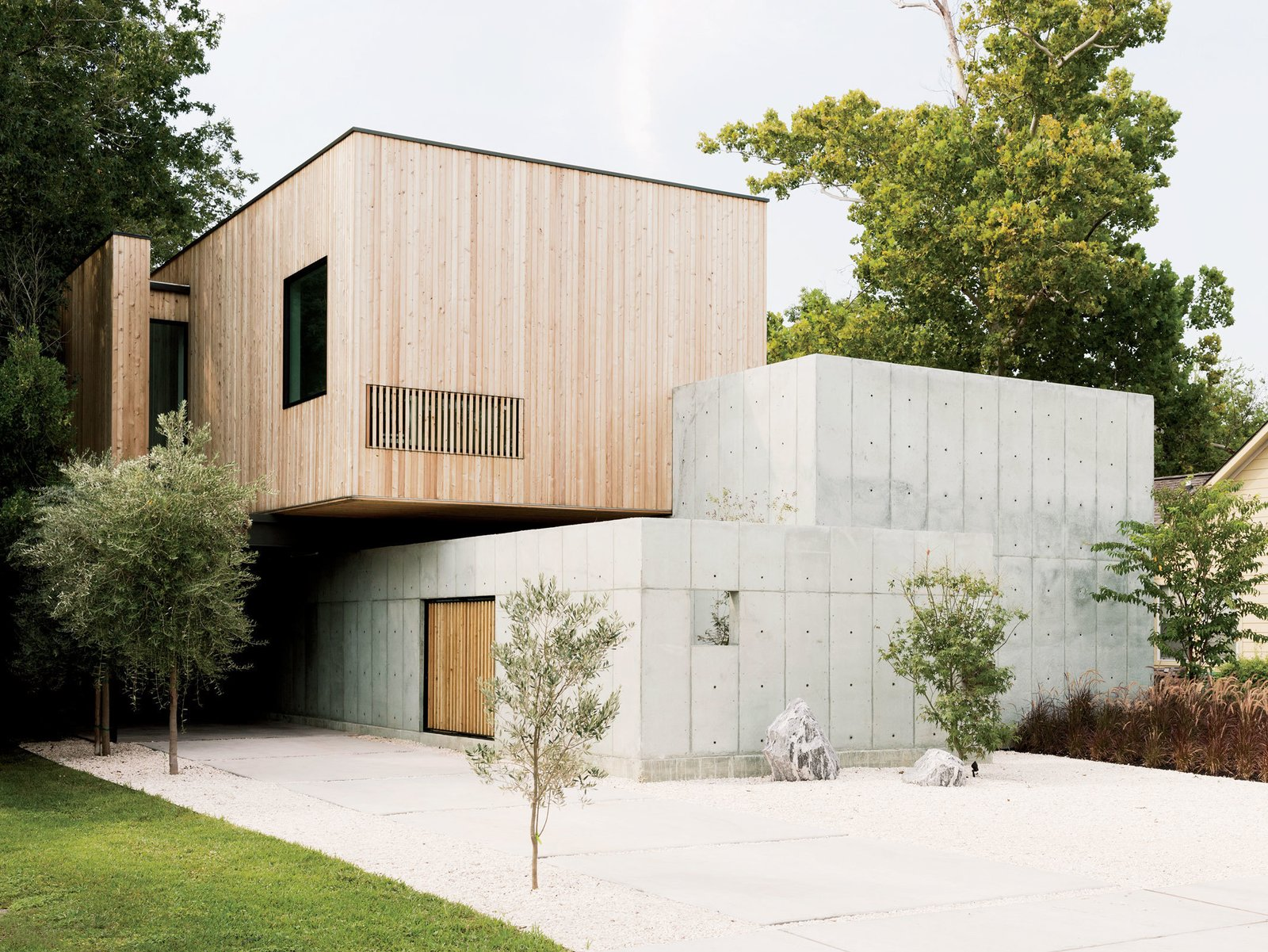 A Texas Couple Builds Their Cast-In-Place Concrete Dream Home - Dwell