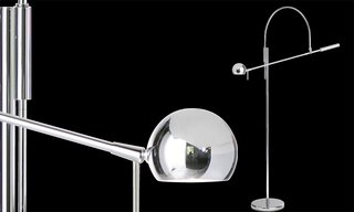 Case in point, one of his first creations was the Orbiter lamp, which was devised in 1967 as a functional and mechanically-based design. The simple arc treatment turned it into a timeless piece that's still in production today.
