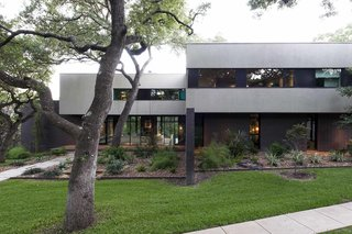 Located on a wooded lot in West Lake Hills, Paul and Jessica D'Arcy's peaceful retreat feels worlds away from Austin, yet is just five miles from the city's buzzing downtown. The couple first listed their home on Airbnb nearly three years ago.