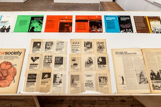 Graphic Designer Richard Hollis at NYC Artists Space - Photo 4 of 7 -