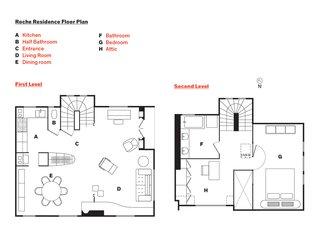 Roche Residence Floor Plan
