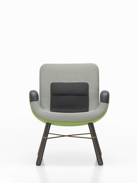 East River Chair by Hella Jongerius, designed 2014. Loaned by Vitra.  Photo 10 of 10 in An Exhibit Tells the Story of Legendary Design Brand Vitra
