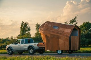 Summer Design Program Crafts Its Own Mobile Dwelling - Photo 1 of 5 -
