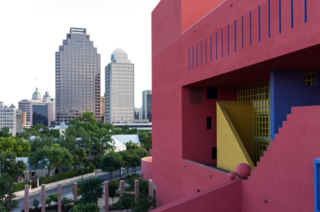 Photo of the Week: Mexican Modernist Library in San Antonio - Photo 1 of 1 -