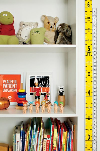 During the renovation, Grimley and Smith added built-in storage to keep clutter in check.