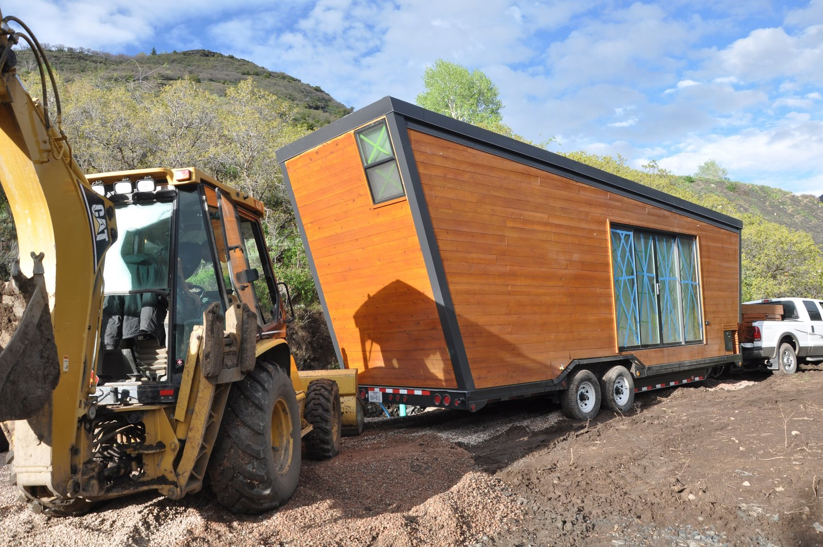 Structural insulated panels by Vantem keep heating costs down in almost any climate.  Photo 11 of 13 in How to build a Tiny DIY Trailer on a Budget