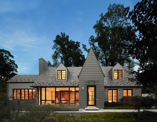 Designed by renowned Washington architect Robert Gurney, this home is a modern interpretation of historical revivalism. It spans over 8,000 square-feet and includes six bedrooms and five and a half bathrooms.