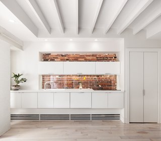 An older building doesn't mean that it can't also be modern, particularly in the kitchen.