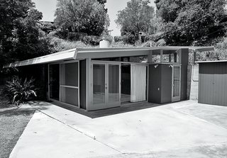The backyard used to be dominated by an unspectacular concrete patio.