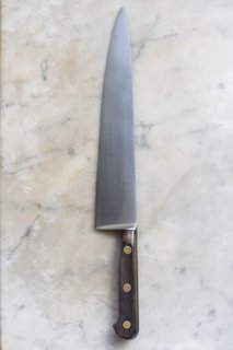 """I also love the antique K Sabatier chef's knives,"" she says. ""They were produced in the 1950s. They're carbon steel, rustic, incredibly beautiful, and fleeting; we're nearing the end of the stock. It's a knife I use at home with great pleasure, one I hope to have ten or twenty years from now."" Swanson sources the vintage items on her site from travels around the world."