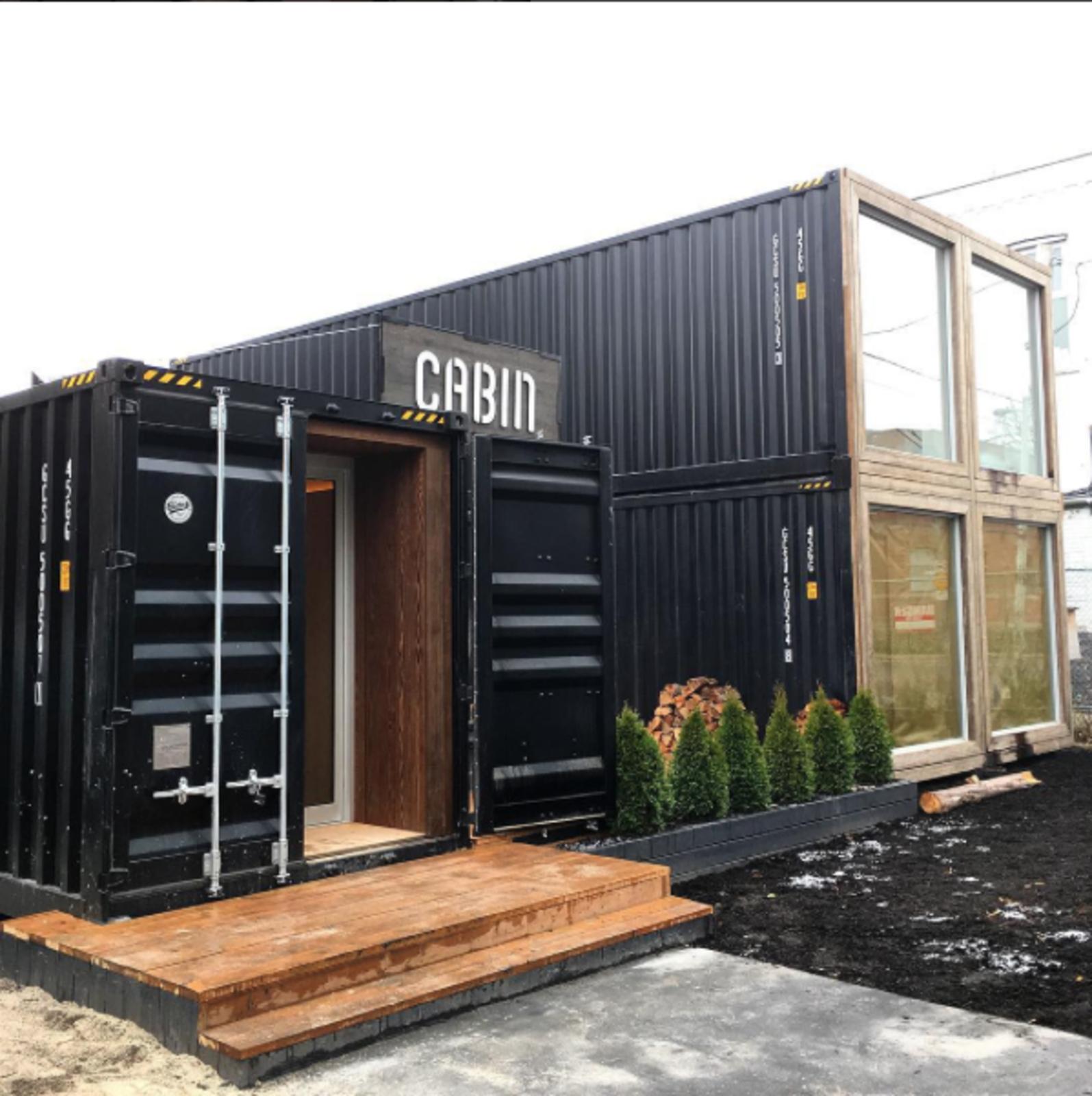 Photo of the Week Shipping Container Structure in Toronto Dwell