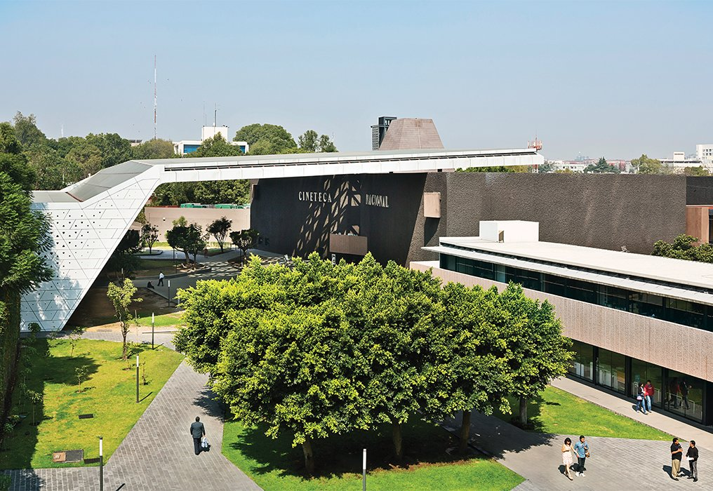 Michel Rojkind and Gerardo Salinas of Rojkind Arquitectos expanded and upgraded Mexico City's Cineteca Nacional in 2012.  Photo 1 of 10 in Rojkind Arquitectos is Transforming Mexico City, One Whimsical Building at a Time