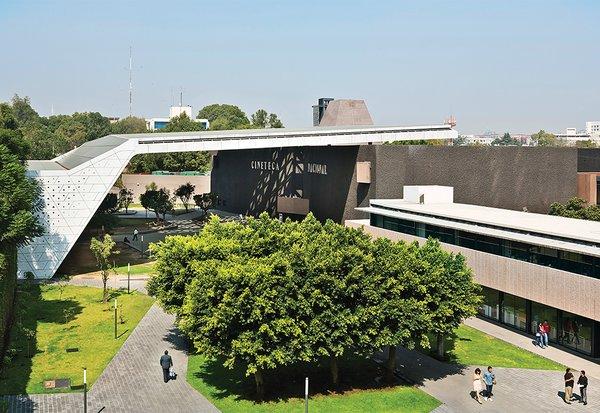 Michel Rojkind and Gerardo Salinas of Rojkind Arquitectos expanded and upgraded Mexico City's Cineteca Nacional in 2012.
