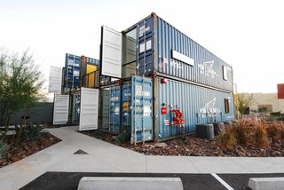 New Shipping Container Apartments Bring Market-Rate Rent to Downtown Phoenix - Photo 2 of 8 -