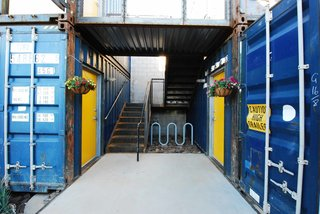 New Shipping Container Apartments Bring Market-Rate Rent to Downtown Phoenix - Photo 4 of 8 -