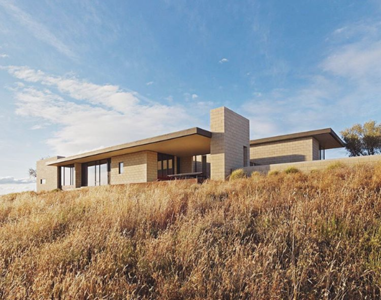 Photo 1 of 1 in Photo of the Week: California Modern Home on an 80-Acre Farm