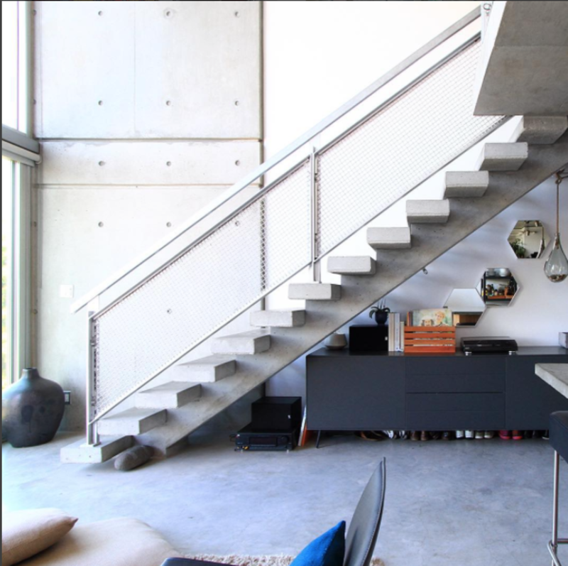 Photo of the Week: Floating Concrete Staircase by Architect Arthur Erickson