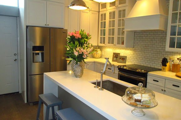 The renovated kitchen.  Photo 1 of 4 in The Winning Renovation of Rowhouse Showdown