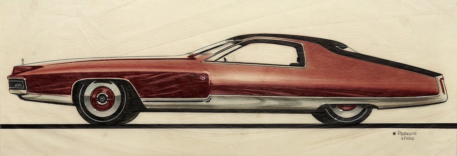 When the Future Had Fins: Fantastical Vintage Auto Drawings - Dwell