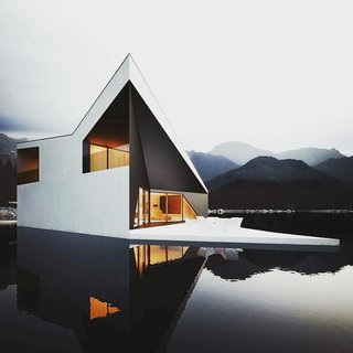 Photo of the Week: Believe It or Not, This Floating Architectural Feat is Actually a Rendering