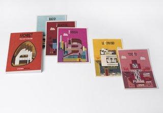Postcard Set Tells the Story of Modern Architecture from A to Z - Photo 1 of 6 -