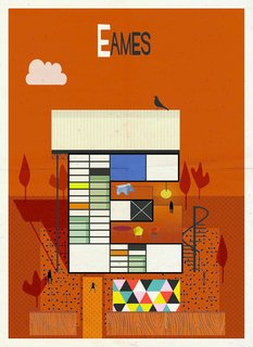 Postcard Set Tells the Story of Modern Architecture from A to Z - Photo 3 of 6 -
