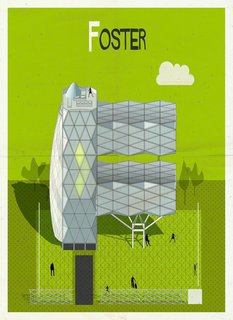 Postcard Set Tells the Story of Modern Architecture from A to Z - Photo 4 of 6 -