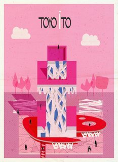 Postcard Set Tells the Story of Modern Architecture from A to Z - Photo 6 of 6 -