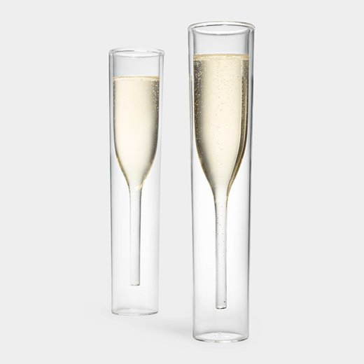 Inside Out Champagne Glasses by Alissia Melka-Teichroew (byAMT), $70 from momastore.org  Photo 7 of 11 in The Modern Bride's Guide to Wedding Registries