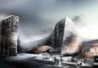 Snøhetta Chosen to Design Le Monde's Headquarters in Paris - Photo 1 of 3 -