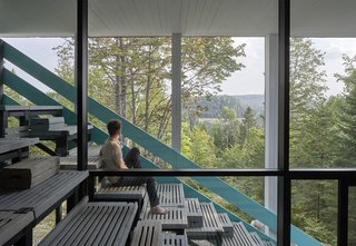 Dozens of Levels Give a Quebec Home Stadium-Sized Views of the Forest - Photo 5 of 7 -