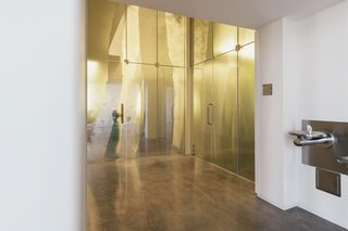 Head to Arkansas for What May Be America's Coolest Art and Design Hotel - Photo 5 of 9 - The property features nine site-specific installations created by artists, like Anne Peabody's Hide and Seek (2012-2013) in the restroom vestibule off the ground-floor Gallery 1.