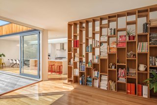 Adaptability is integral to supporting residents of various ages. Intelligent features, like millwork that can be removed to change the communal spaces' configurations, will enable the home to evolve with its occupants.