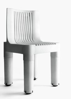 K 1340, Polyethylene children's chair designed by Marco Zanuso, Kartell, 1964.