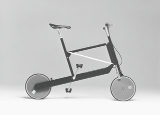 Zoombike, folding bicycle, Elettromontaggi, 2000.